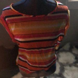 Tops - Multi-color sheer blouse